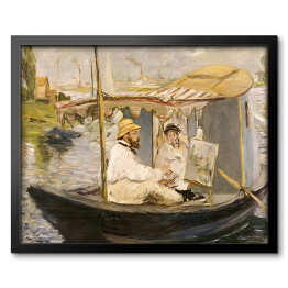 Manet - The Boat, reprodukcja