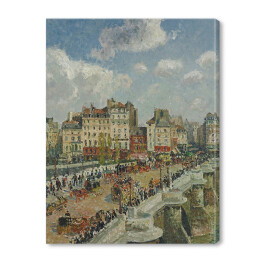 "Camille Pissarro ""Most Pont-Neuf"" - reprodukcja"