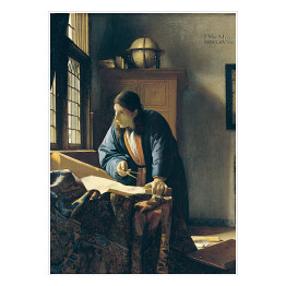 Jan Vermeer - The Geographer, reprodukcja