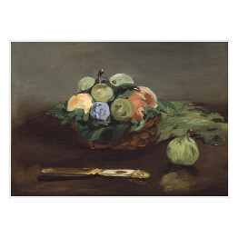 Edouard Manet - Basket of Fruit, reprodukcja