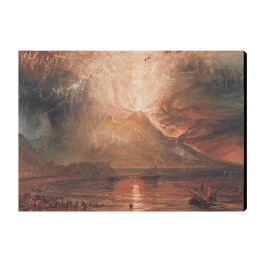 Joseph Mallord William Turner - Vesuvius in Eruption, reprodukcja