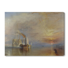 The Fighting Temeraire - William Turner, reprodukcja