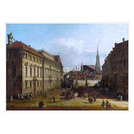 "Canaletto ""The Lobkowitzplatz in Vienna"""