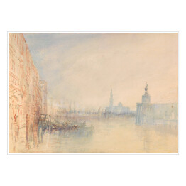 Joseph Mallord William Turner - Venice, The Mouth of the Grand Canal, reprodukcja