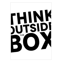 "Typografia - ""Think outside the box"""