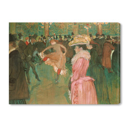 Henri de Toulouse-Lautrec - At the Moulin Rouge, reprodukcja