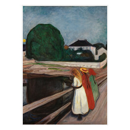 "Edvard Munch ""Girls on the Pier"""