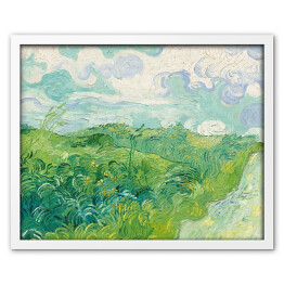 "Vincent van Gogh ""Enclosed Field with Ploughman"" reprodukcja"