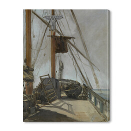 Édouard Manet - The ship's deck, reprodukcja