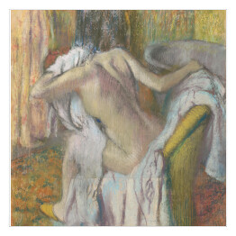 """After the Bath, Woman drying herself"" Edgar Degas reprodukcja"