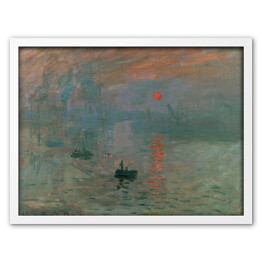 Claude Monet - Impression, Sunrise [reprodukcja]