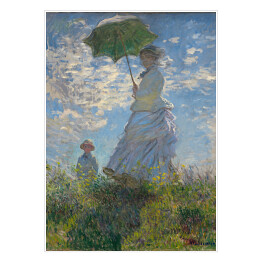 Claude Monet - Woman with a Parasol (reprodukcja)