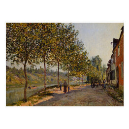 "Alfred Sisley ""June Morning in Saint-Mammès"" reprodukcja"