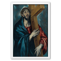 "El Greco ""Christ Carrying the Cross"" reprodukcja"