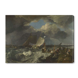 Joseph Mallord William Turner - Paintings Calais Pier, reprodukcja