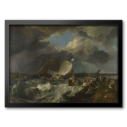 "Joseph Mallord William Turner ""Obrazy Calaisa Piera"" - reprodukcja"