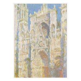 Claude Monet - Rouen Cathedral, Full Sunlight (reprodukcja)