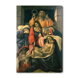 "Sandro Botticelli ""Lamentation over the Dead Christ"" reprodukcja"