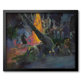 Paul Gauguin - Upa Upa (The Fire Dance), reprodukcja