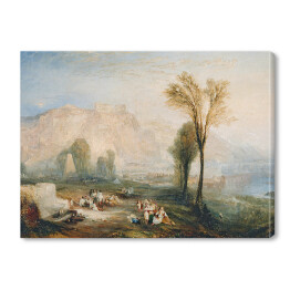 "William Turner ""Widok Ehrenbreitstein"" - reprodukcja"