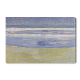 "Piet Mondriaan ""Sea after sunset"""