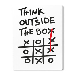 Think outside the box - kółko i krzyżyk