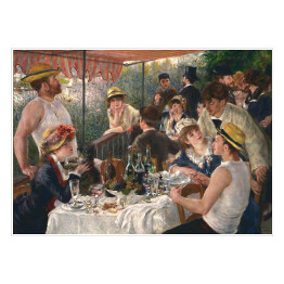 Auguste Renoir - Luncheon of the Boating Party (reprodukcja)