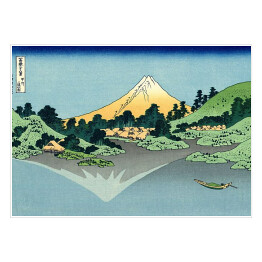"Hokusai Katsushika ""The Fuji reflects in lake Kawaguchi seen from the Misaka Pass in the Kai Province"""