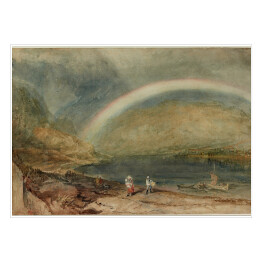 Joseph Mallord William Turner - The Rainbow, reprodukcja