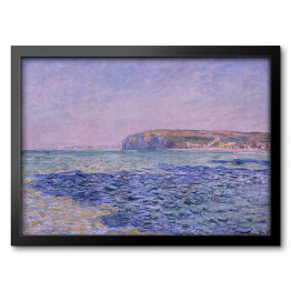 Claude Monet - Shadows on the Sea. The Cliffs at Pourville (reprodukcja)