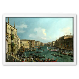 "Canaletto ""Regatta on the Canale Grande"""