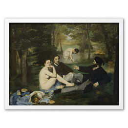 Edouard Manet - Luncheon on the Grass, reprodukcja