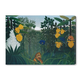 "Henri Rousseau ""The Repast of the Lion"" - reprodukcja"