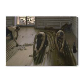 "Gustave Caillebotte ""The Floor Planers"""