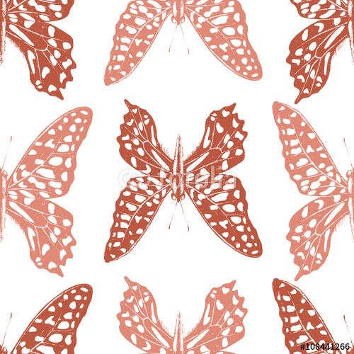 Wzór motyle