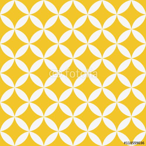 Bezszwowa geometryczna tekstura. Wzór gwiazdy. Sztuka wektor. w kolorze żółtym i białym.