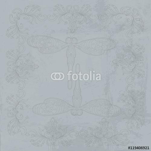 Dragonfly Abstrakcyjny dekoracyjny wzór