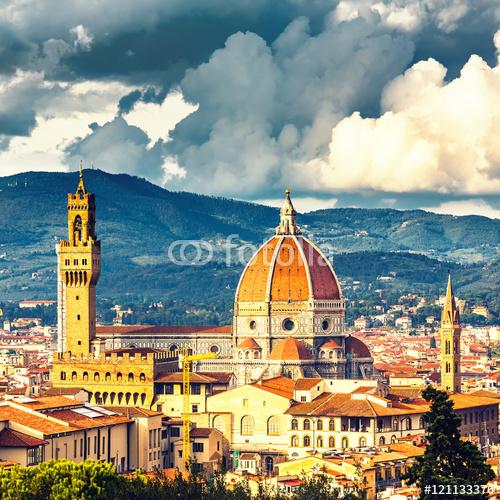 Widok na katedrę Duomo we Florencji