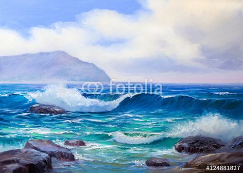 malowanie seascape