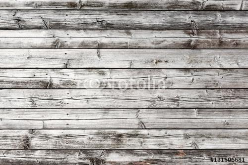 Stara drewniana deska z rybackiego statku