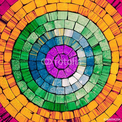 Tło Mozaika. Szczegóły Minimal art