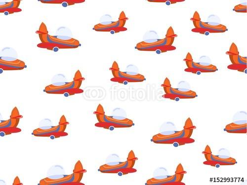 Chłopiec bezszwowy wzór z kolorów samolotami. Tło dla dzieci z latania samolotem do drukowania na tkaninie, pocztówki i wykorzystania na stronach internetowych.