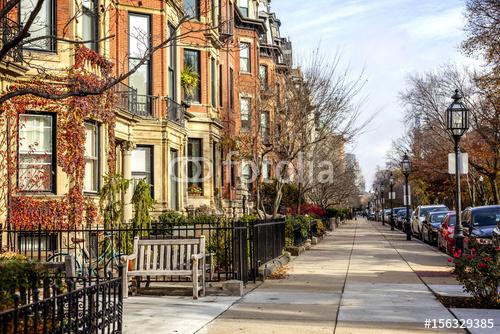 Ulice Bostonu