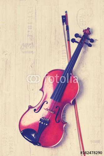 Instrumenty Muzyczne Skrzypce Plakaty Premium Decor Mint