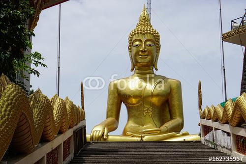 Pattaya Duży Buddha widoku punkt w Tajlandia Pattaya. 30 czerwca 2017 r