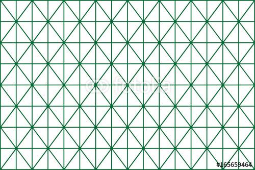 Wzór siatki zielony romb
