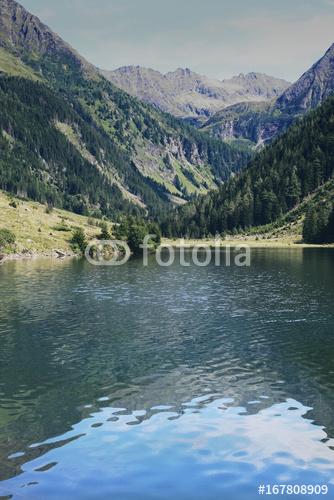 Górskie jezioro w Austrii