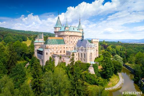 Zamek Bojnice na Słowacji