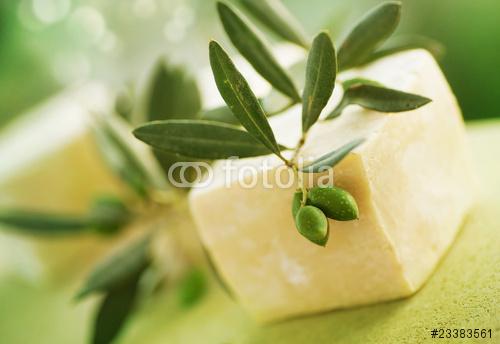Naturalne mydła ręcznie robione i oliwki. Bardzo ziemisty DOF
