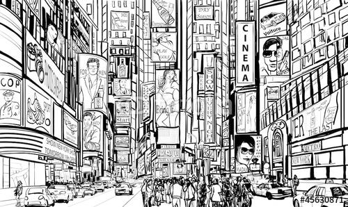 ulica w Nowym Jorku